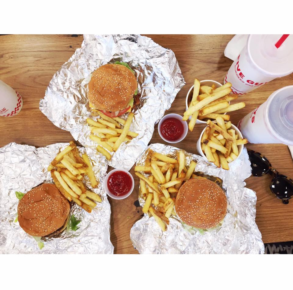 Hamburguesas Five Guys