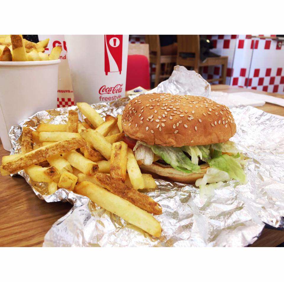 Hamburguesa Five Guys